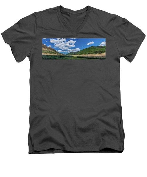 Rio Grande Headwaters #3 Men's V-Neck T-Shirt