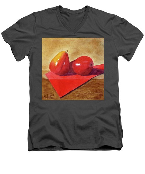 Ripe For The Eating Men's V-Neck T-Shirt