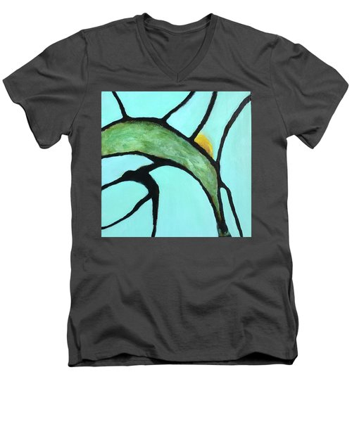 Ripening II Men's V-Neck T-Shirt by Mary Sullivan