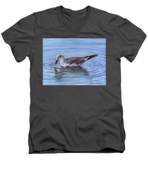 Ripple Effect Men's V-Neck T-Shirt