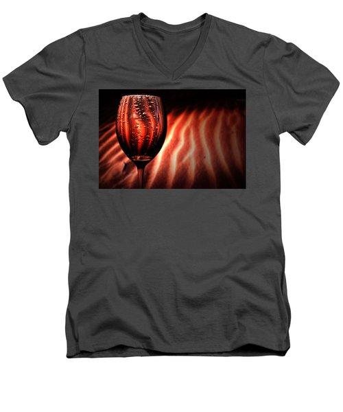 Ripples And Droplets Men's V-Neck T-Shirt