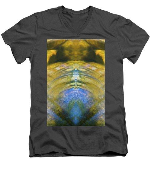 Ripples Of Bell Rocks Men's V-Neck T-Shirt