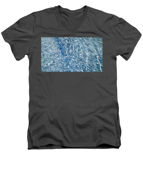 Men's V-Neck T-Shirt featuring the photograph Ripples Of Summer by Robert Knight