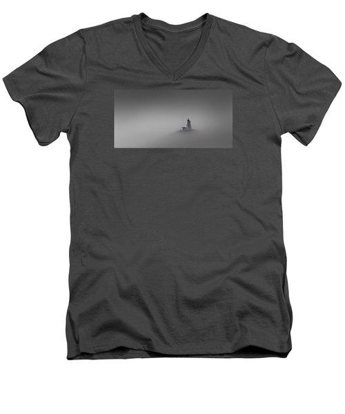 Rise Above Men's V-Neck T-Shirt