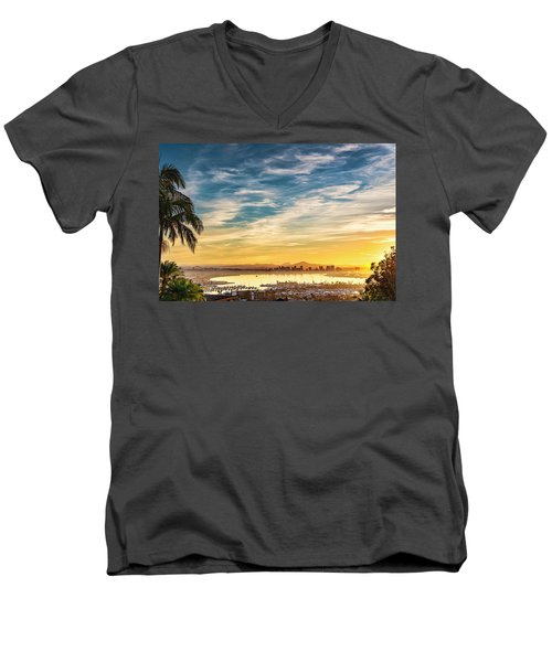 Rise And Shine Men's V-Neck T-Shirt