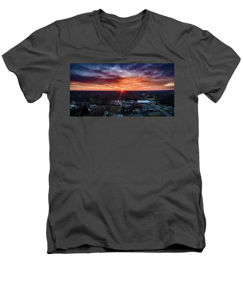 Rise And Shine Men's V-Neck T-Shirt