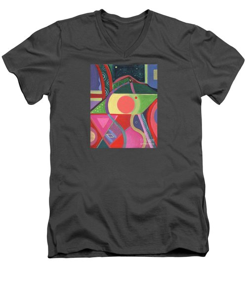 Rising Above Men's V-Neck T-Shirt