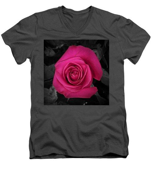 Rising Above Men's V-Neck T-Shirt