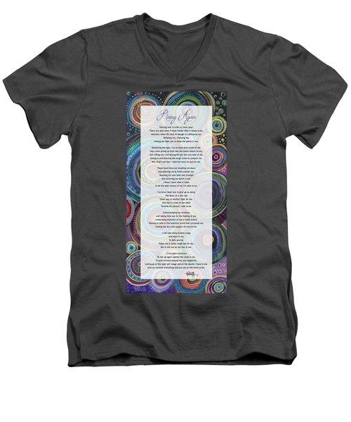 Rising Again Men's V-Neck T-Shirt