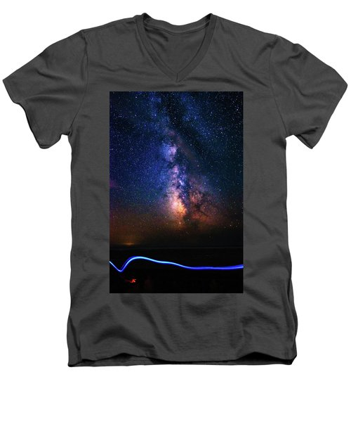 Rising From The Clouds Men's V-Neck T-Shirt