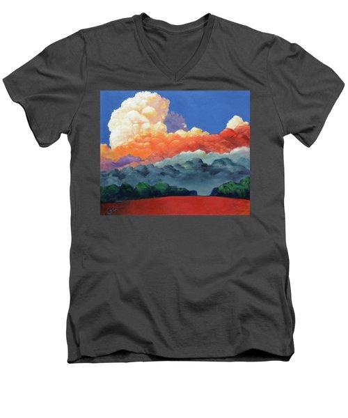 Rising High Men's V-Neck T-Shirt