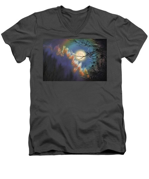 Rising Moon Men's V-Neck T-Shirt