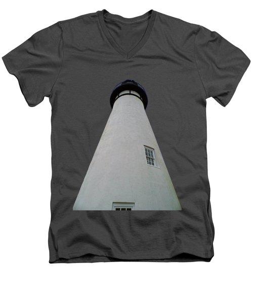 Rising Up Transparent For Customization Men's V-Neck T-Shirt
