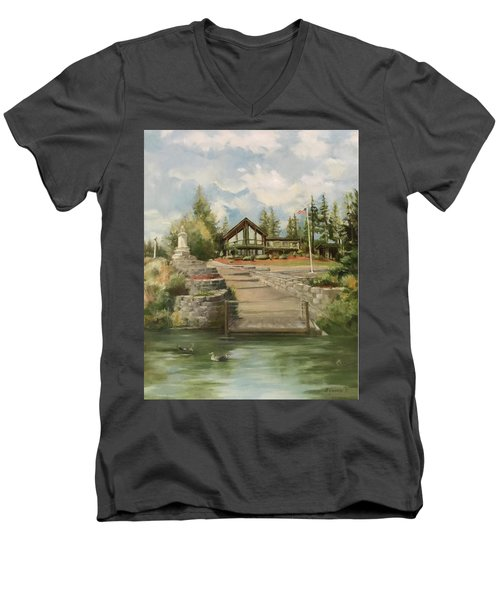 Rita's House Men's V-Neck T-Shirt