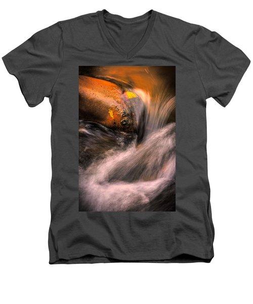 River Flow, Zion National Park Men's V-Neck T-Shirt