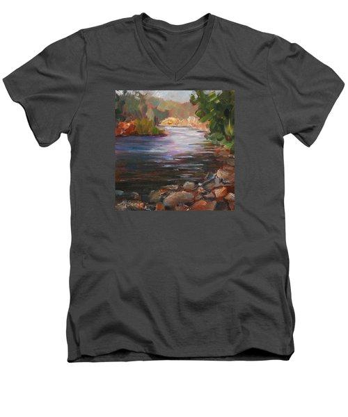River Light Men's V-Neck T-Shirt