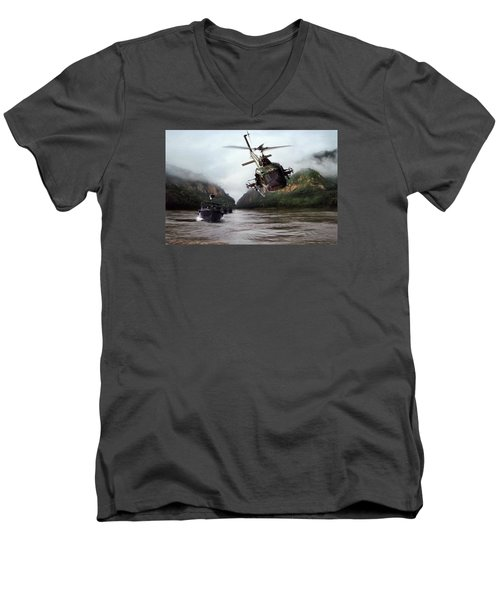 River Patrol Men's V-Neck T-Shirt
