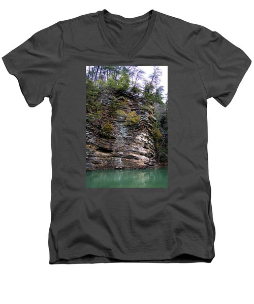 River Rock Men's V-Neck T-Shirt
