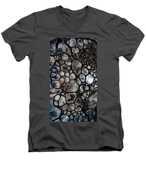 River Stone 14 Men's V-Neck T-Shirt