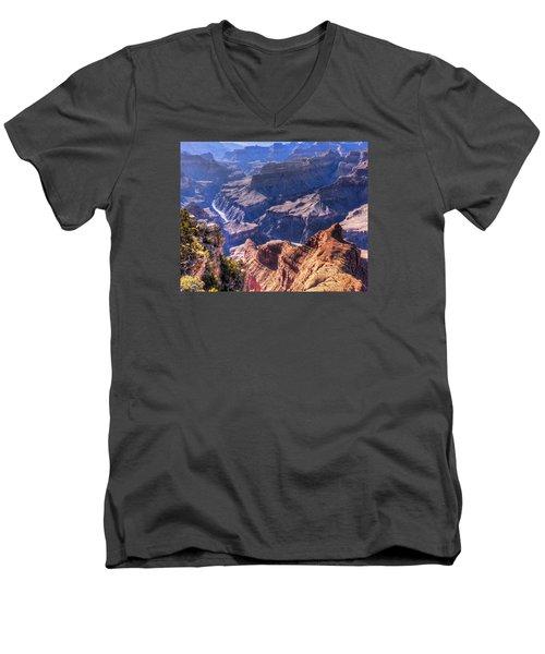 River View Men's V-Neck T-Shirt
