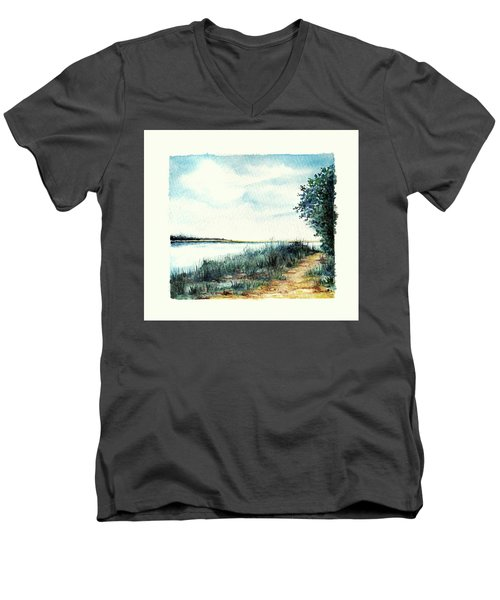 River Walk Men's V-Neck T-Shirt