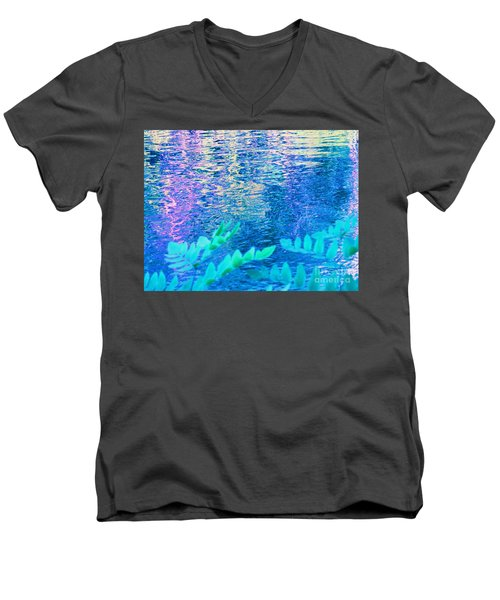 Distractions From The River Waters Men's V-Neck T-Shirt