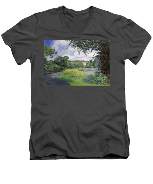 Riverside House And The Cauld Men's V-Neck T-Shirt