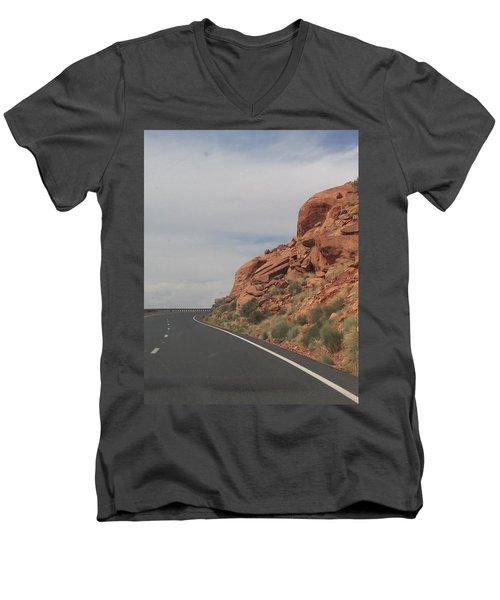 Road To Nowhere Men's V-Neck T-Shirt