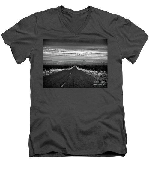Road To Rio Grand Village Men's V-Neck T-Shirt