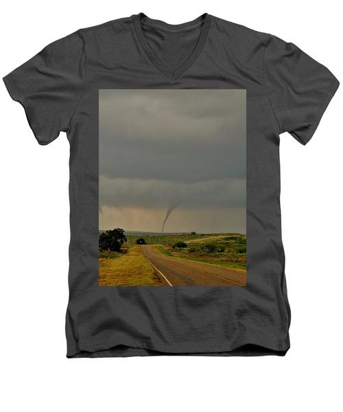 Road To The Twister Men's V-Neck T-Shirt