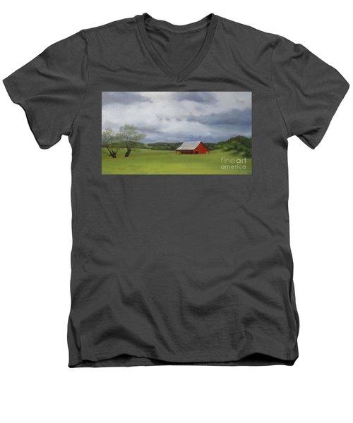 Road To Yosemite Men's V-Neck T-Shirt