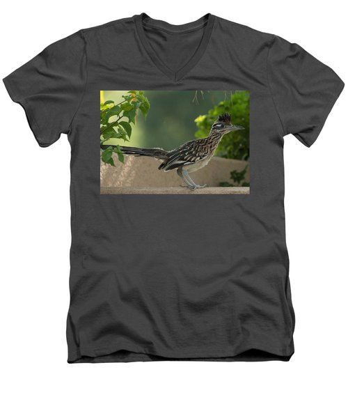 Roadrunner Closeup Men's V-Neck T-Shirt