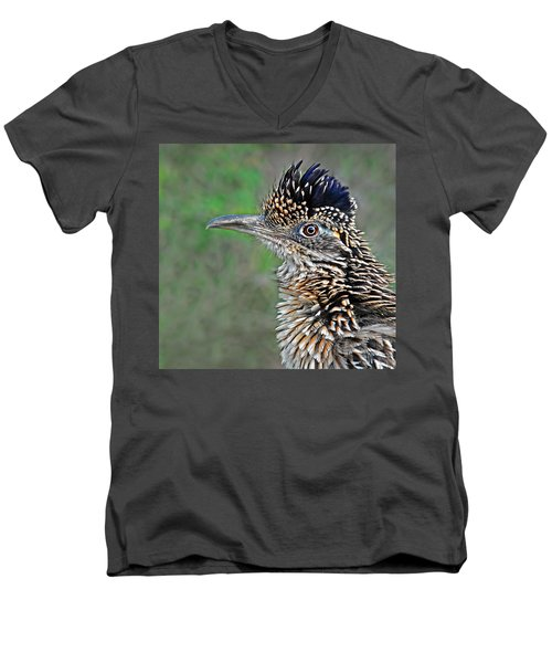 Roadrunner Portrait Men's V-Neck T-Shirt