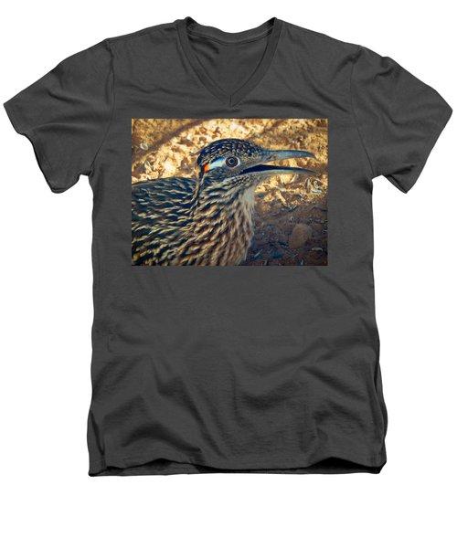 Roadrunner Portrait Men's V-Neck T-Shirt