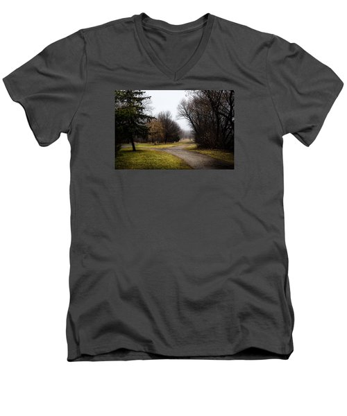 Roads To Nowhere Men's V-Neck T-Shirt