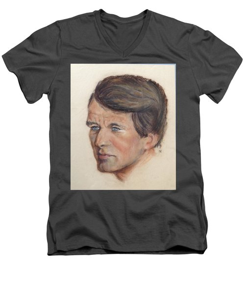 Robert Kennedy Men's V-Neck T-Shirt