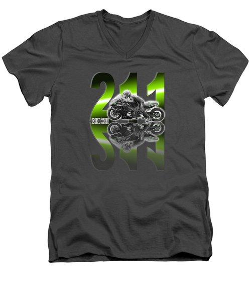 Robert Parker T001 Men's V-Neck T-Shirt