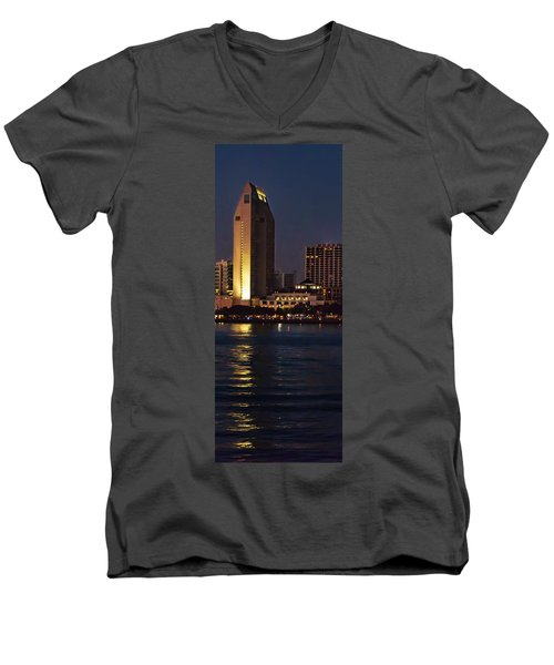 Robert Test Side Men's V-Neck T-Shirt