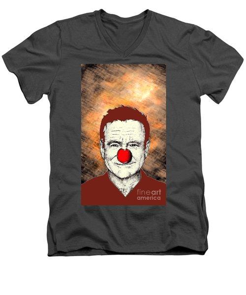 Robin Williams 2 Men's V-Neck T-Shirt