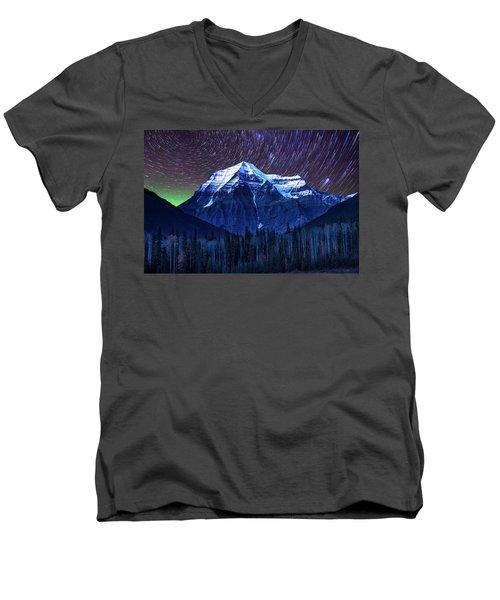 Robson Stars Men's V-Neck T-Shirt by John Poon