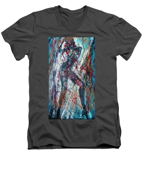 Rock And Roll Men's V-Neck T-Shirt