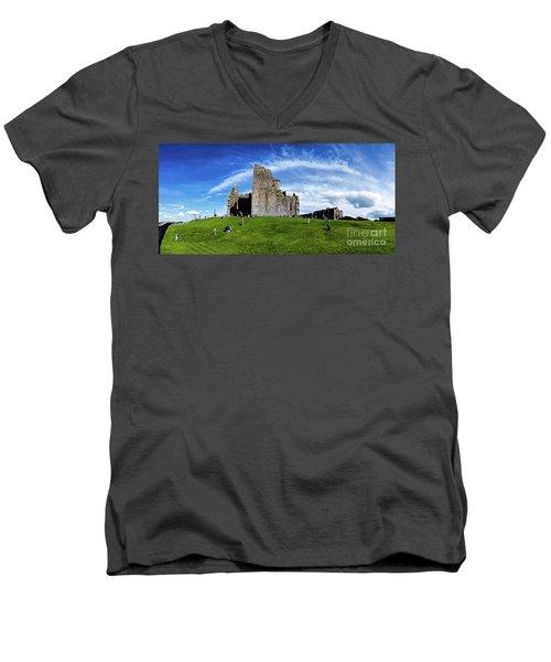 Rock Cashel Men's V-Neck T-Shirt