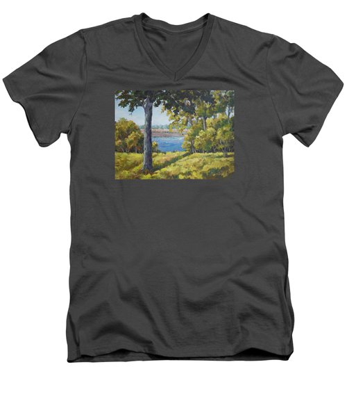 Rock Cut State Park Men's V-Neck T-Shirt