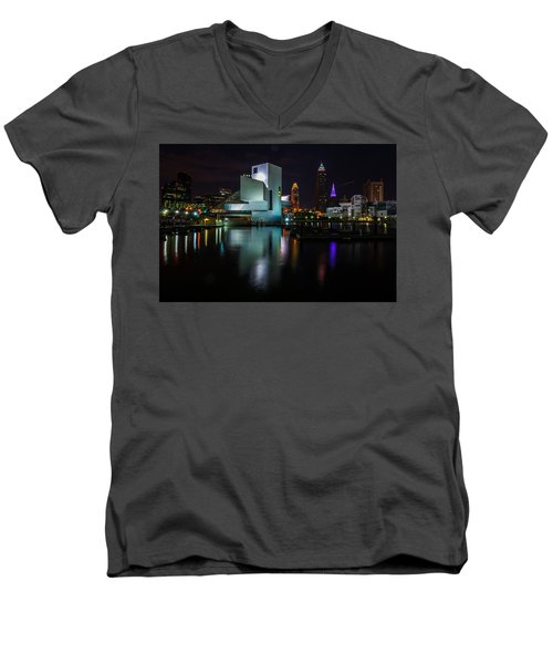 Rock Hall Reflections Men's V-Neck T-Shirt