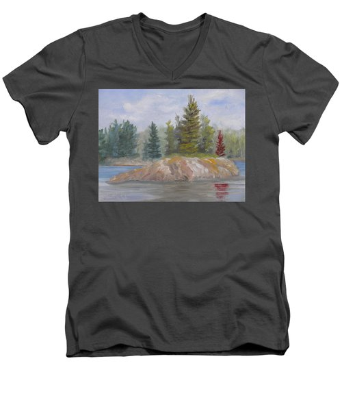 Rock Island Men's V-Neck T-Shirt
