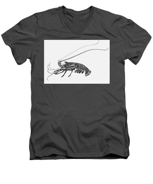 Rock Lobster Men's V-Neck T-Shirt