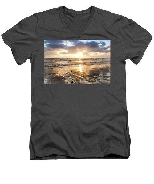 Rock 'n Sunset Men's V-Neck T-Shirt