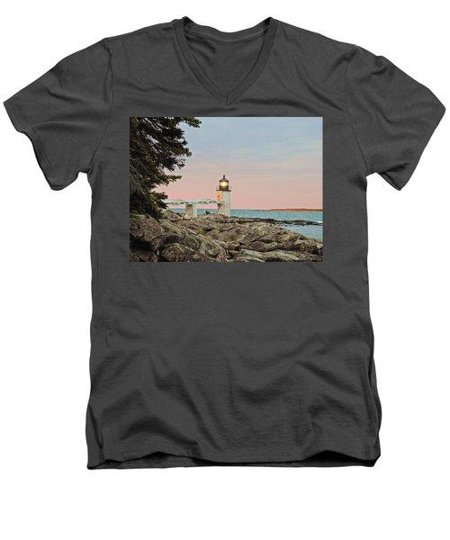Rock Patterns Men's V-Neck T-Shirt