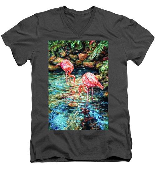 Rock Pond Men's V-Neck T-Shirt