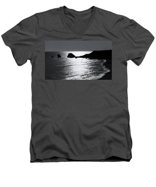 Rock Silhouette Men's V-Neck T-Shirt